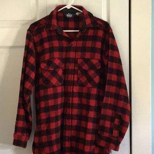 Woolrich men's plaid shirt.